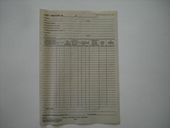 бесплатно пустые бланки для индивидуального предпринимателя товарные отчеты